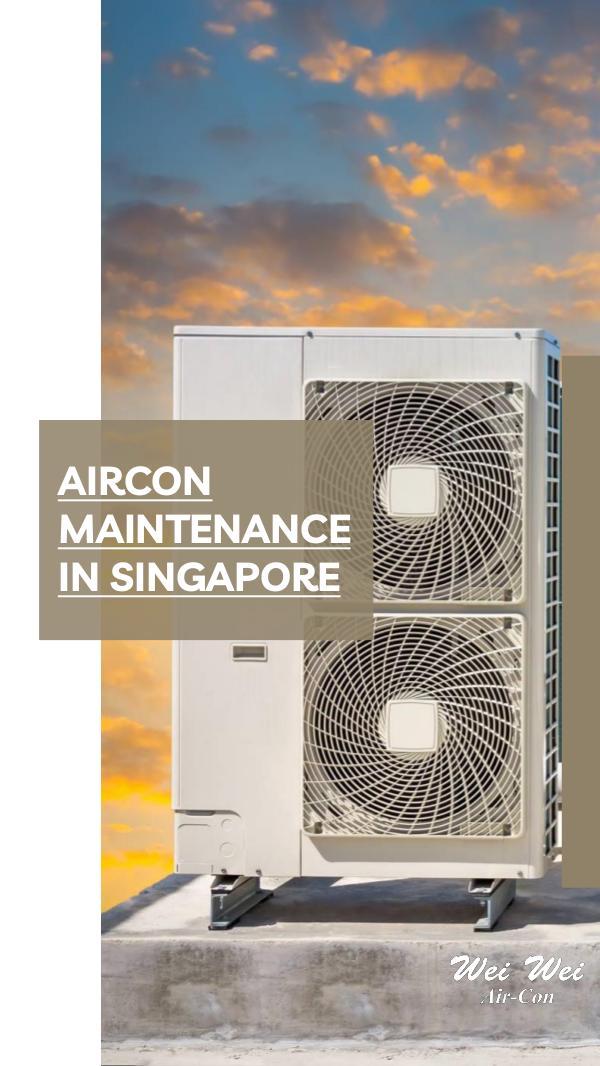 Aircon Maintenance in Singapore Magazine
