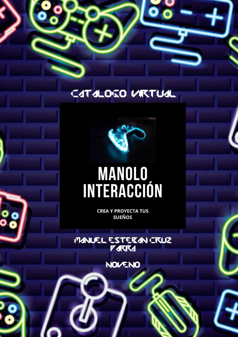 CATALOGO DE VENTAS  DE  MANOLO INTERACCIÓN MANOLO INTERACCION