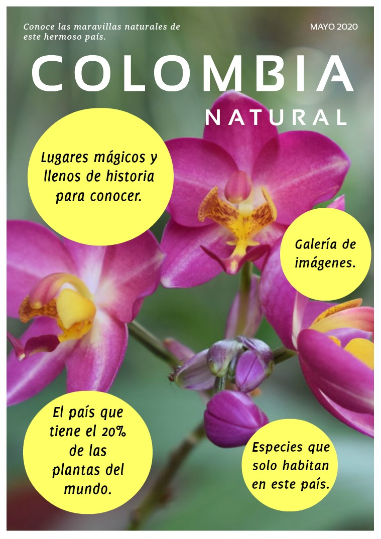 COLOMBIA NATURAL COLOMBIA NATURAL