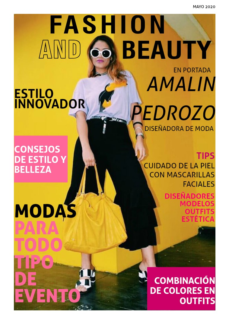 REVISTA FASHION AND BEAUTY FASHION AND BEAUTY 2020