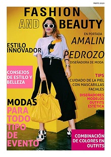 REVISTA FASHION AND BEAUTY