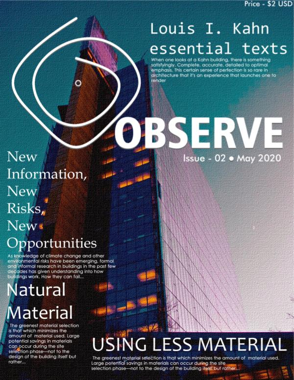 Observe - Issue 02 - May  2020