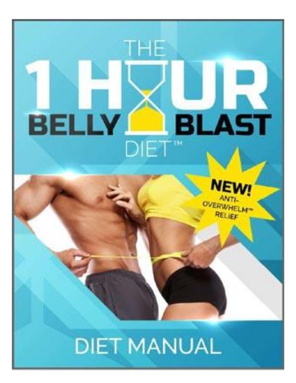 1 Hour Belly Blast Diet by Dan Long  PDF EBook Free Download 1 Hour Belly Blast Diet by Dan Long  PDF EBook Fre