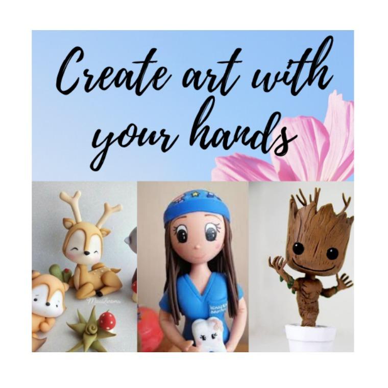Mi primera publicacion Create art with your hands