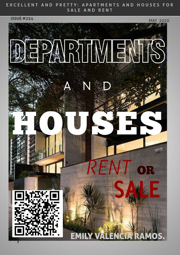 DEPARTMENTS AND HOUSES SALE AND RENT OF APARTMENTS OR HOUSES