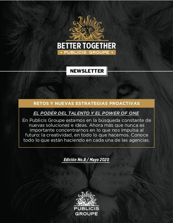 Newsletter Publicis Groupe Edición #8