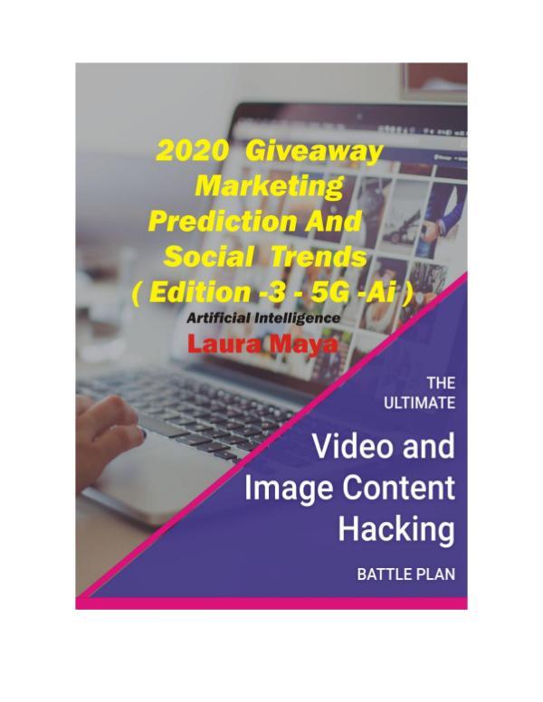 2020 Giveaway Marketing Prediction and Social Trends 2020 Giveaway Marketing Prediction and Social Tr