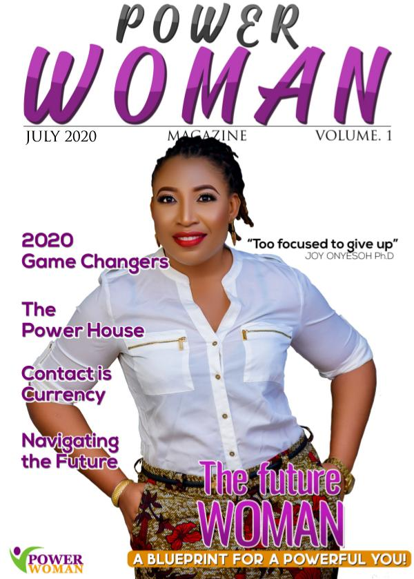POWER WOMAN DIGITAL MAGAZINE JULY 2020