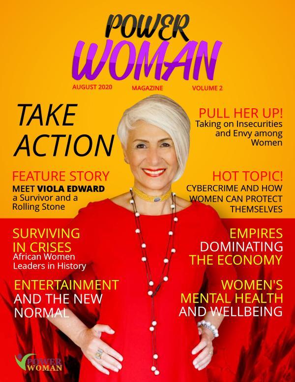 POWER WOMAN DIGITAL MAGAZINE AUGUST  2020