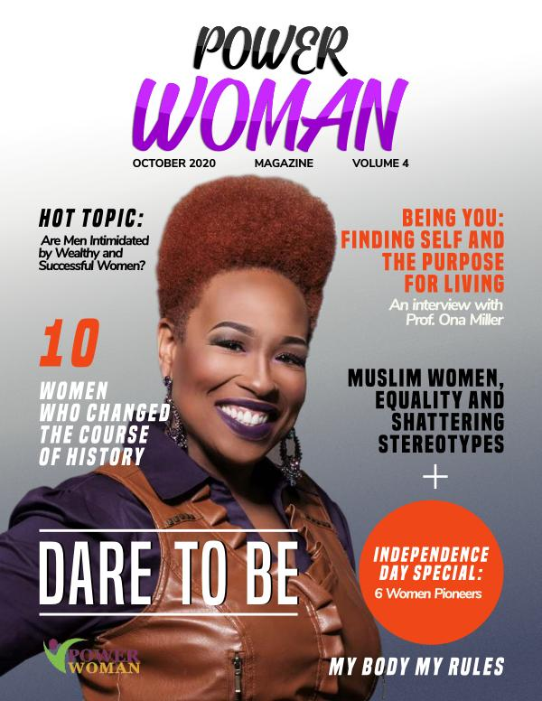 POWER WOMAN DIGITAL MAGAZINE OCTOBER EDITION