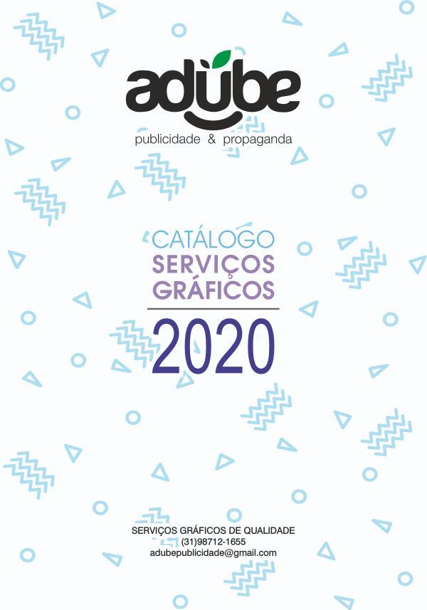 Catalogo Serviços Graficos