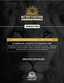Newsletter Publicis Groupe