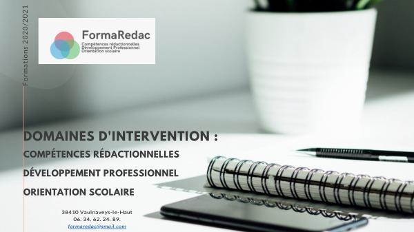 FormaRedac Catalogue 2020-2021